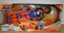 HASBRO ACTION MAN -- STREET LUGE / MISSION - BOXED NEW MIB
