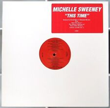 MICHELLE SWEENEY This Time  pro red vinyl 12in 1994 Big Beat TONY GREEN