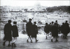 "FOTO STAMPA RIPRODUZIONE SCENA FILM "" ROMA CITTA' APERTA "" di R. ROSSELLINI 1945"