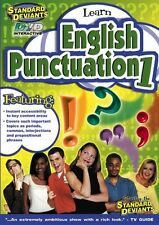 Standard Deviants: Learn English Punctuation 1 631865014125 (DVD Used Very Good)