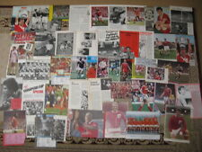 NOTTINGHAM FOREST FC Large Collection Of Magazine Pictures 1950s to 1980s