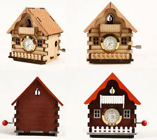 Cuckoo House Clock Orgel / Wooden model kit / youngmodeler