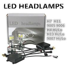 2016 120W 12000LM Car COB LED Headlight Lamp Kit H4  H7 H11 H13 9005 9006 9007