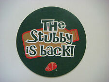 Beer Bar Coaster: BRICK Brewery, Ontario, CANADA; The Stubby Red Cap Ale is Back