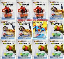 HOT WHEELS ENTERTAINMENT THE MUPPETS DC NEW 1/64 SEALED CASE F 12CT Y0758-999F