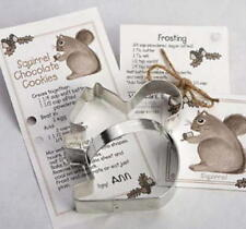 SQUIRREL ~ ACORN ~ tin cookie cutter DUO ~ MADE IN THE USA (NEW)