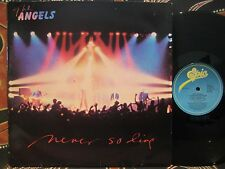 """THE ANGELS Never So Live 1981 4 song 12"""" EP"""