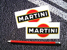 2 X MARTINI STICKERS DECALS LE MANS LANCIA PORSCHE F1 SUPERCUP GT3 RS 911