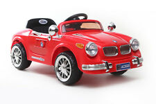 Red Classic Roadster - 6V Kids' Electric Ride On Car