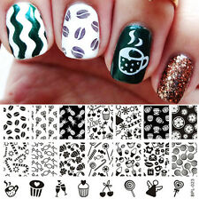 Cute Candy Nail Art Stamp Stamping Template Image Plate BORN PRETTY BP-L023