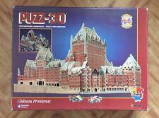 Puzz 3d UNIQUE Chateau Frontenac  Complete Puzzle 3D Wrebbit Milton Bradley