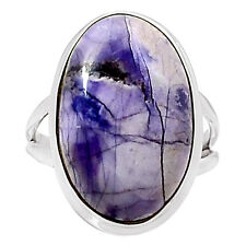 Tiffany Stone 925 Sterling Silver Ring Jewelry s.10.5 7936R