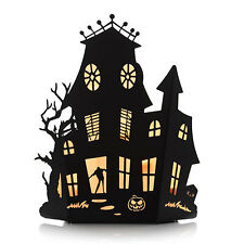 YANKEE CANDLE HAUNTED MANSION SILHOUETTES MULTI TEA LIGHT CANDLE HOLDER NIB