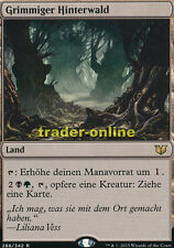 Grimmiger Hinterwald (Grim Backwoods) Commander 2015 Magic