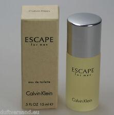 Calvin Klein Escape for Men 15 ml Miniatur Eau de Toilette EdT Splash