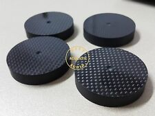 4x HiFi  50*10mm Speaker Spikes Spike Stand Feet base pad carbon Fiber High End