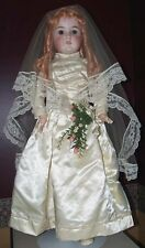 "L@@K~ 24"" QUEEN LOUISE ~ BRIDE DOLL ... LOVELY!"