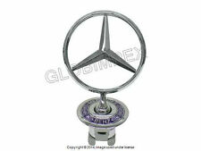 Mercedes w140 S-class Hood Star emblem GENUINE NEW + 1 year Warranty