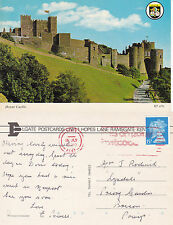 1990 DOVER CASTLE DOVER KENT COLOUR POSTCARD