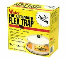 Ultimate Flea Trap Non-Poisonous, Odorless Uses Color Heat Light to Attract NEW