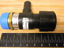 "New Georg Fischer Central Plastics 3 way Pipe Fitting  2"" NPT BRASS 1.25 in CTS"