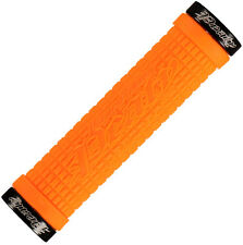 "Lizard Skins Lock-On Mountain Bike MTB Locking Grips Peaty ""Cheers"" Tangerine"
