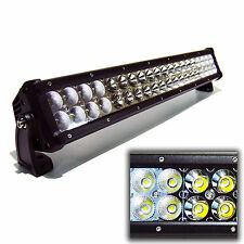 20inch 120W LED Spot Flood Work Light Bar Driving Off-Road 4x4 ATV 4WD Lamp