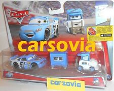 EASY IDLE PITTY + RUBY OAKS No 51 - 2-pack Disney Pixar Cars Mattel vehicles new