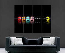 PAC MAN CLASSIC GAME ATARI GHOSTS POSTER PICTURE WALL IMAGE  ART PRINT LARGE