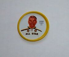 Shirriff metal coin Jacques Plante  # 43 AS 1962-63  set # 9 B