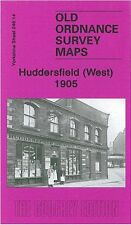 MAP OF HUDDERSFIELD (WEST) 1905