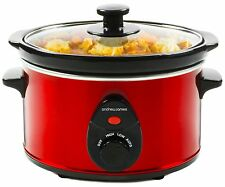 Electric Steel Pressure Cooker Crock Oven Cooking Pot Stew Casserole Rice Slow