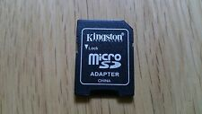 New MicroSD To SD Adapter Converter 2GB 4GB 8GB Kingston MicroSD To SD Unsealed