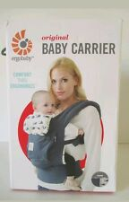 ERGObaby Original Baby Carrier, 3 Position, Marine Blue, Whales, Ergo NEW