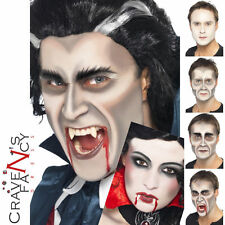 VAMPIRE MAKE UP SET KIT Face Paint SPECIALE FX Dracula Halloween Smiffys