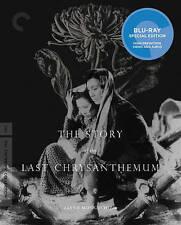 Criterion Blu-Ray. STORY OF THE LAST CHRYSANTHEMUM. Kenji Mizoguchi. New