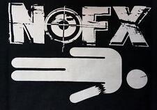 NOFX BLACK CANVAS BACK PATCH