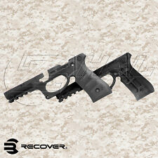 Recover Tactical Beretta 92 Polymer Grip and Rail Cover Mount Adapter BLACK BC2