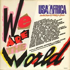 "USA FOR AFRICA we are the world/QUINCY JONES grace USAID1 uk cbs 7"" PS EX/EX"