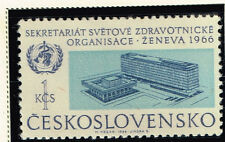 Czech Famous World Health Oganization Building in Geneva stamp 1966 MNH