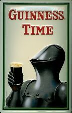 GUINNESS ARMOUR Vintage Metal Pub Sign | 3D Embossed Steel | Home Bar | Irish