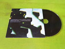 BREAKING AND ENTERING -  Underworld And Gabriel Yared  !!!!!!!!! RARE CD PROMO