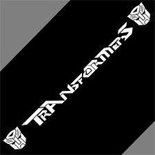 Car  Transformers Autobot Vinyl  Windshield Cartoon Decal sticker #CA151