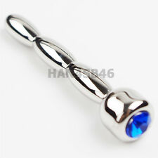 NEW Stainless Steel Urethral Plug SOUNDING Male Plug Urethral Stretching Dilator