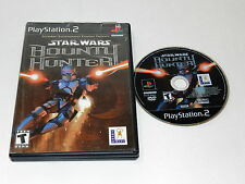 STAR WARS BOUNTY HUNTER Playstation 2 PS2 Game W/ CASE - TESTED