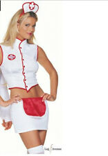 Vendita! Leg Avenue Naughty Nurse Costume M/L UK 12 Cosplay Anime