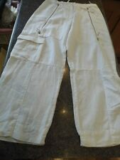 Annette Gortz high waist 3/4 langenlook  linen trousers  36