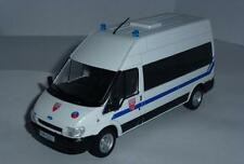 DeAgostini 1:43 Ford Transit French police  s. Police cars of the world