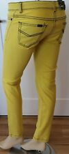 JAG Denim Jeans 27 NEW Skinny Slim Yellow Stretch Womens J7605 New #177