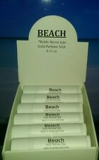 Retail boxed lot of 12 BEACH (Bobbi Brown type) solid perfume sticks- resell-